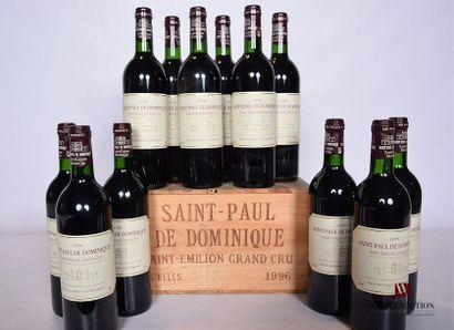 12 BllesSAINT-PAUL DE DOMINIQUESt Emilion...