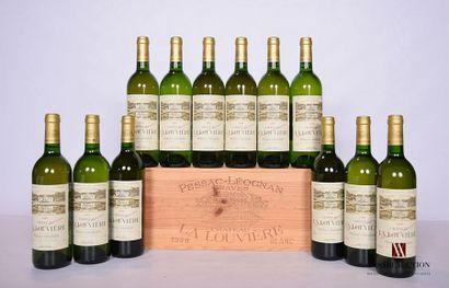 12 BllesCH. LA LOUVIÈREGraves blanc1999...