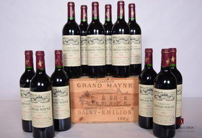 12 BllesCH. GRAND MAYNESt Emilion GCC1994...
