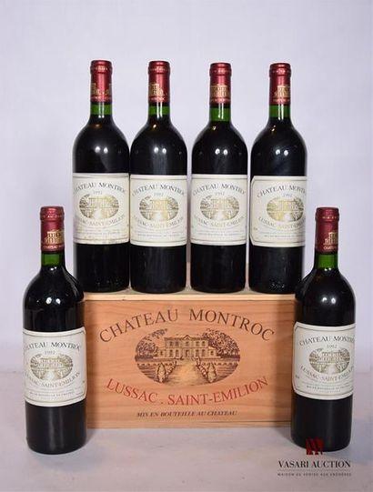 6 BllesCH. MONTROCLussac St Emilion1992...