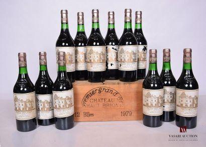 12 BllesCH. HAUT BRIONGraves 1er GCC1979...