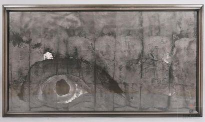 GAO Xingjian (né en 1940) L'Oeil Encre de...