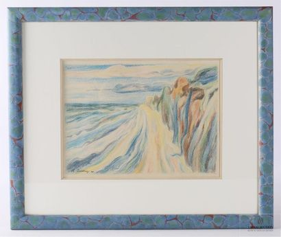 DEIERLING Harry Heinrich (1894-1989) Paysage...