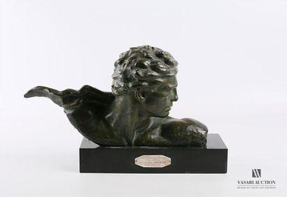 KELETY Alexandre (1874-1940) Buste de Jean...