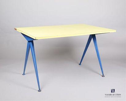 PROUVE Jean (1901 - 1984) - Table cafétéria...