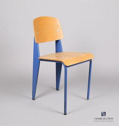 PROUVE Jean (1901 - 1984) - Chaise métropole...