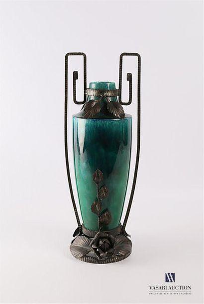Paul MILLET (1870-1950) - SEVRES Vase de...