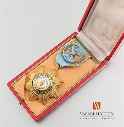 France - Ordre de l'Étoile d'Anjouan, (institué...