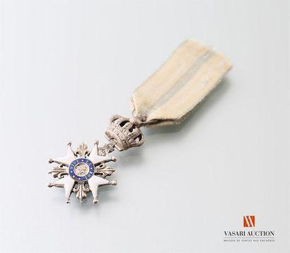 Décoration du Lys, croix émaillée à huit...