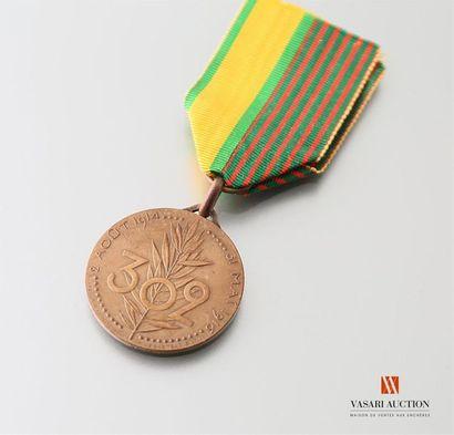 Médaille commémorative du 302ème Régiment...