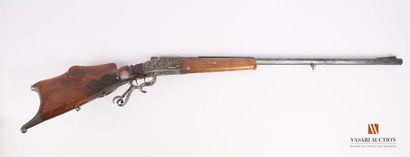 Carabine de tir mono coup, belle fabrication...