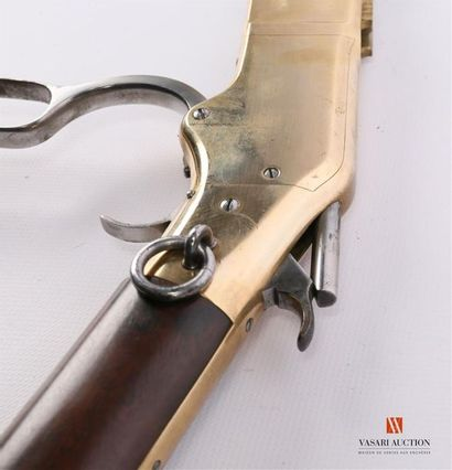Carabine de selle Winchester modèle 1866, mousqueton plein magasin calibre 44, canon...