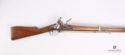 Fusil de dragon modèle an 9, platine à silex...