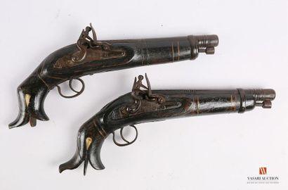 Paire de pistolets