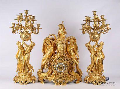 CLODION (1738-1814), d'après Importante garniture...