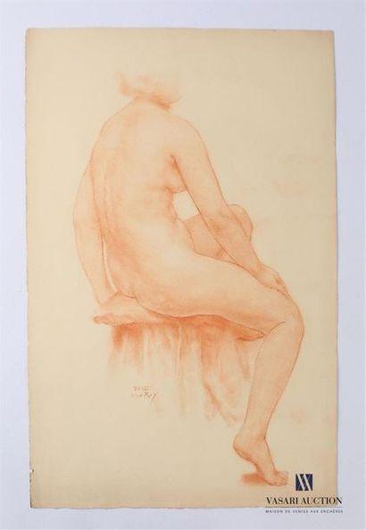 VAN ROY Dolf (1858-1943) Etude de femme nue...