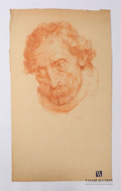 VAN ROY Dolf (1858-1943) Homme à la fraise...