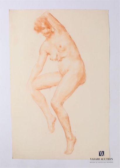 VAN ROY Dolf (1858-1943) Etude de nu féminin,...