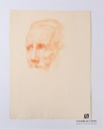 VAN ROY Dolf (1858-1943) Etude portrait dhomme...
