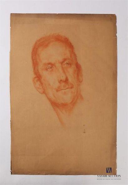 VAN ROY Dolf (1858-1943) Portrait d'homme,...