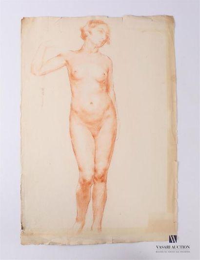 VAN ROY Dolf (1858-1943) Etude de nu féminin...