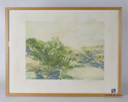 ZAO WOU-KI (1920-2013), d'après Paysage en...