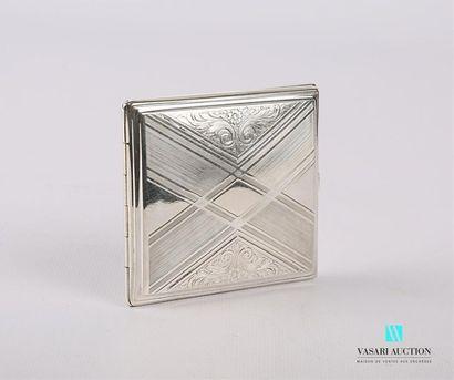 Étui à cigarettes en argent 800/°° de forme...