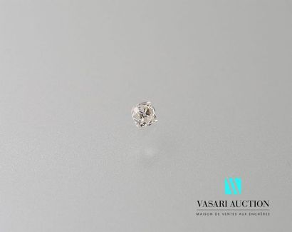 Diamant sur papier taille ancienne carré...
