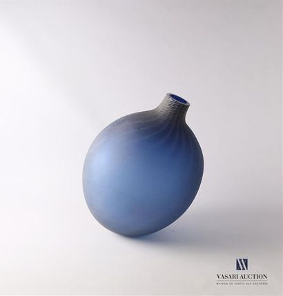 SALVIATI Vase globulaire, modèle Ripple,...