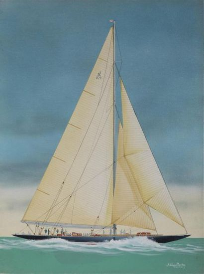 CONRAD Philippe (né en 1949) ENDEAVOUR II...