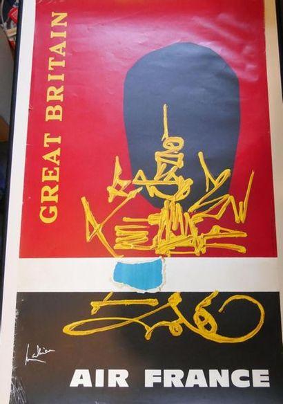 AIR FRANCE Affiche par MATHIEU pour GREAT...