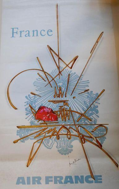 AIR FRANCE Affiche par MATHIEU pour la FRANCE...