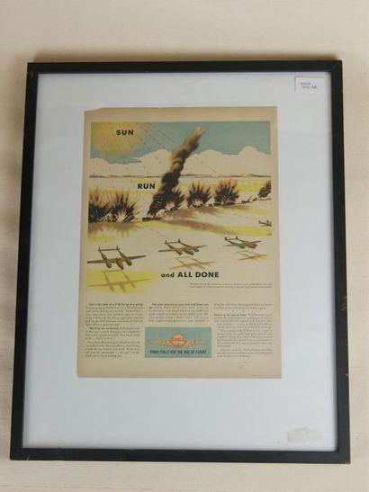 P38 LIGTING USA AIR FORCE Publicité illustrée...
