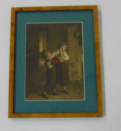 SANS PUBLICITE : SCENE ENFANTINE : Le Cadeau...