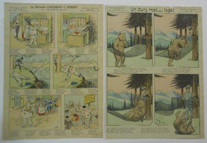 IMAGES : Imagerie Pellerin-Série aux Armes d'Epinal-Humoristiques-Contes Moraux-Merveilleux....