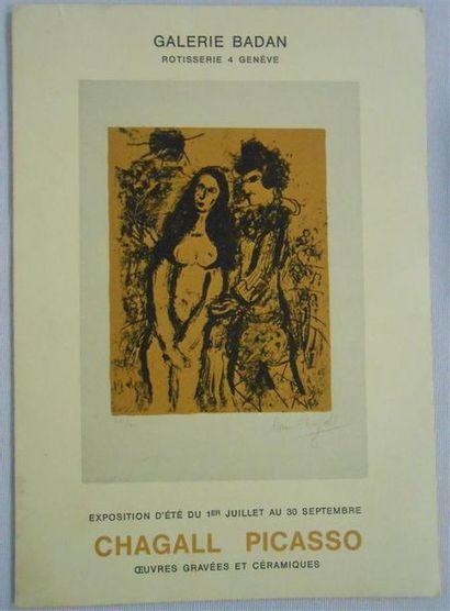 EXPOSITIONS PEINTRES. Petit dépliant - Galerie...