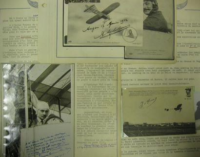 Etienne Bunau VARILLA (1890-1961 - Brevet n°16) 3 Pièces dont deux avec signature...