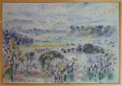 André MASSON (1896-1987) : La vallée après...