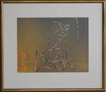 André MASSON (1896-1987) : Esprits Animaux,...