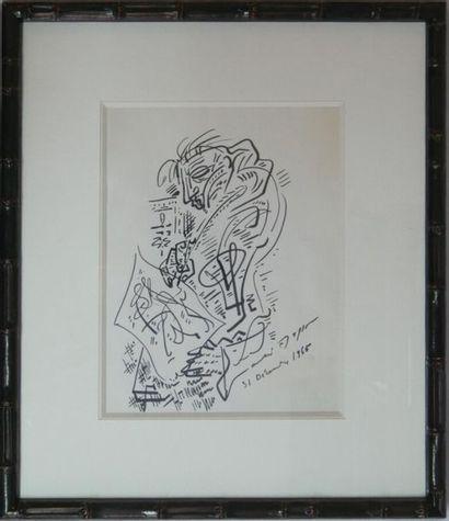 André MASSON (1896-1987) : Le Peintre, 31...