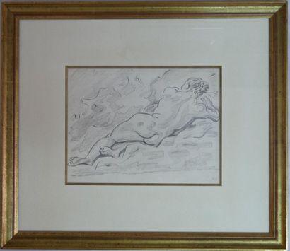 André MASSON (1896-1987) : Femme (dessin...