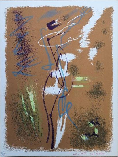 André MASSON (1896-1987) : La fée des Marais...