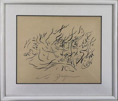 André MASSON (1896-1987) : Le Peintre et...