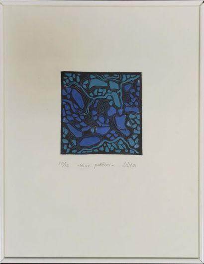 LILYA Pavlovic-Dear (1947) : Blue pebbles...
