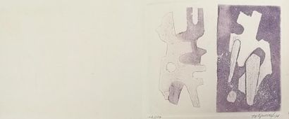 Jean SIGNOVERT (1919-1981) : Sans titre,...