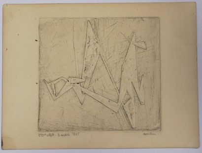 Pierre COURTIN (1921-2012) : Composition,...