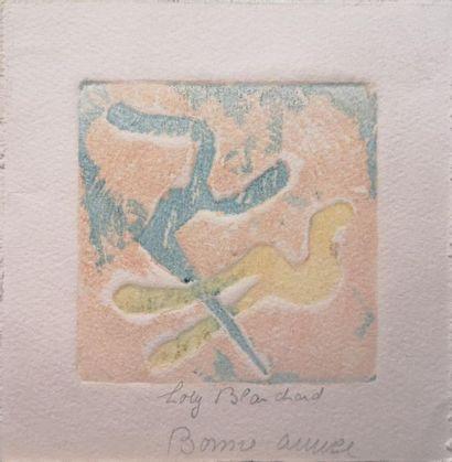 Loty BLANCHARD (1907-2002) : Ensemble de...