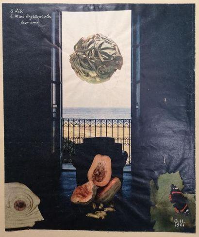 Georges HUGNET (1904-1974) : Composition...