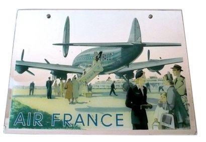 Miroir d'Agence, Constellation Air France....
