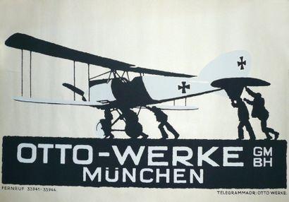 Otto Werke Munchen : Affiche allemande pour...